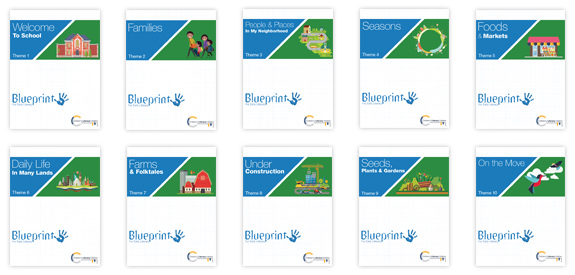 Blueprint for early literacy childrens literacy initiative theme covers 1 10 malvernweather Choice Image