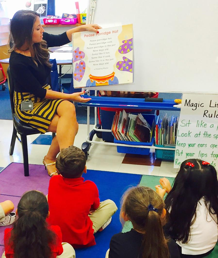 Rebecca Einsman Teaching