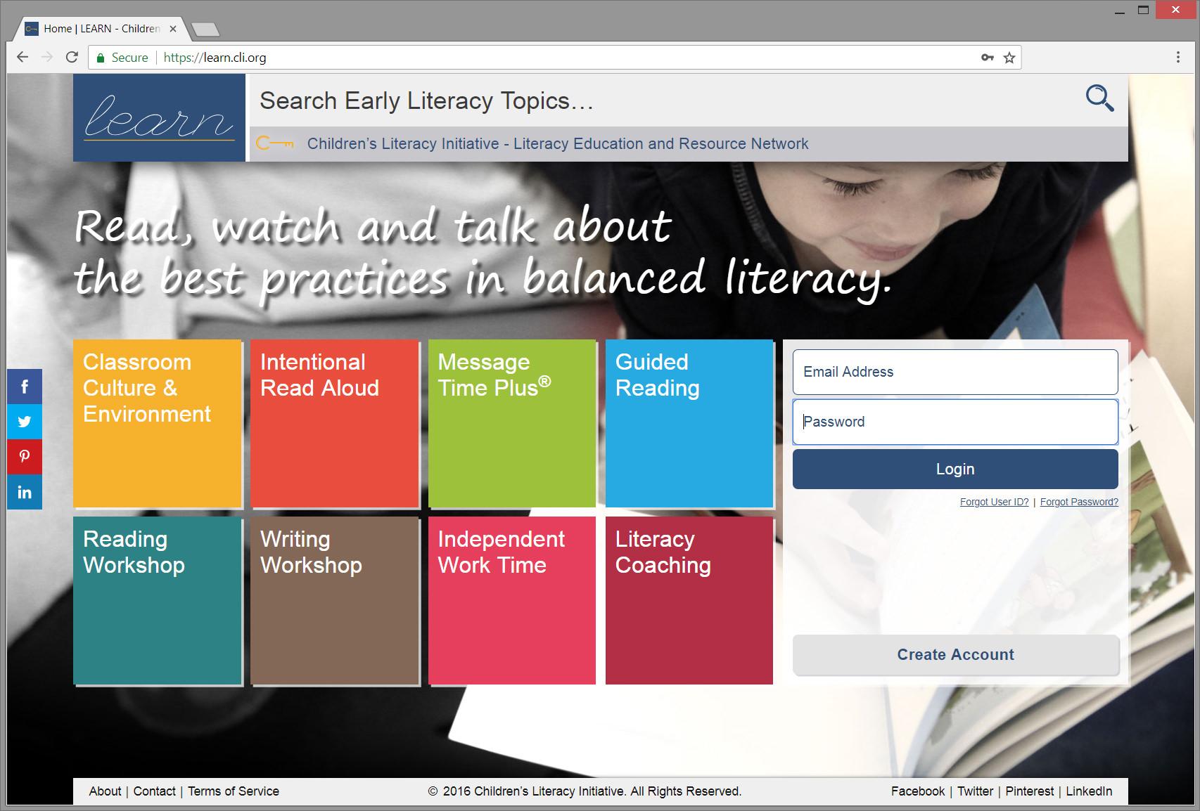 LEARN Free online e-learning website.