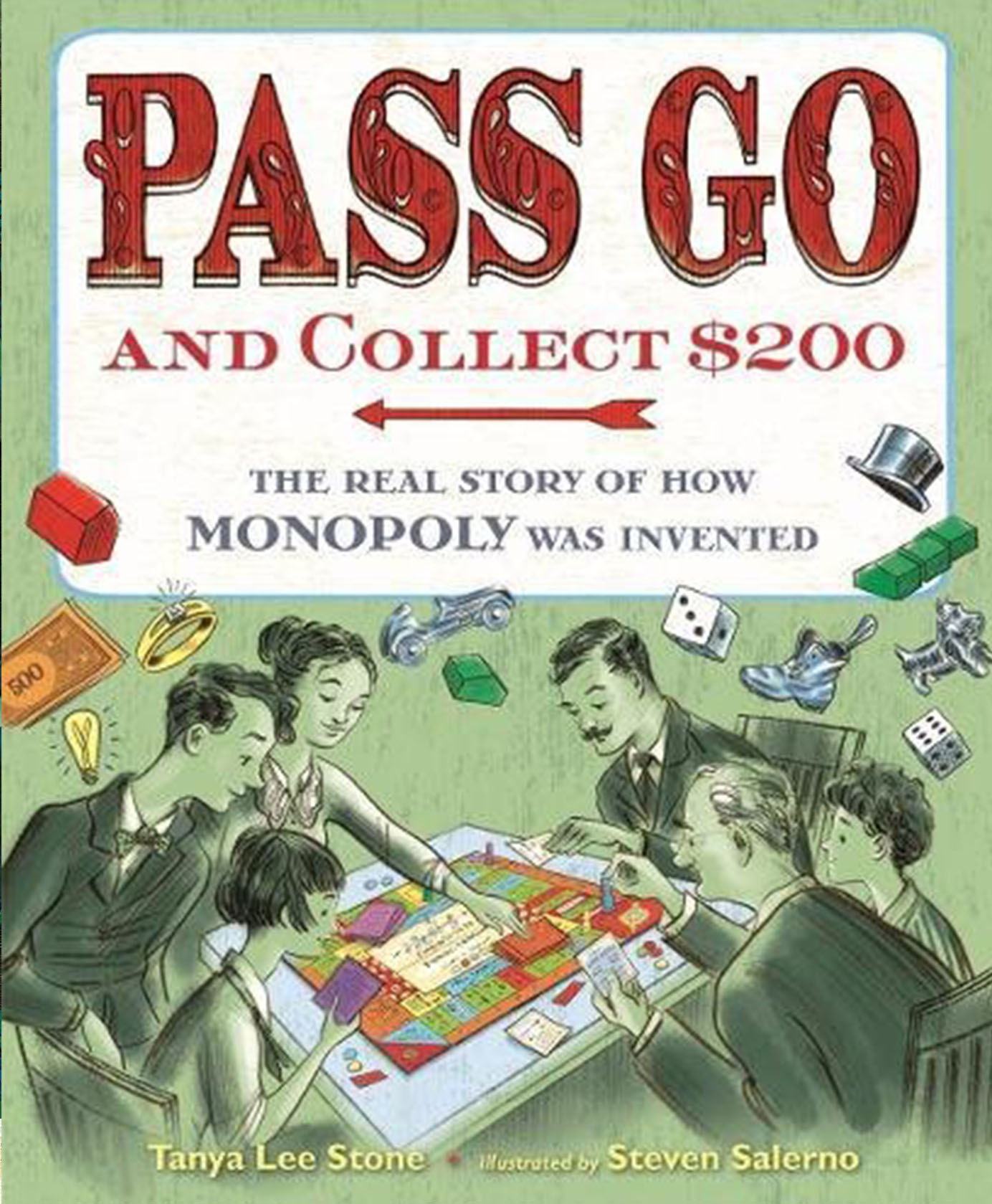 PASS GO AND COLLECT $200 - TONYA BOLDEN