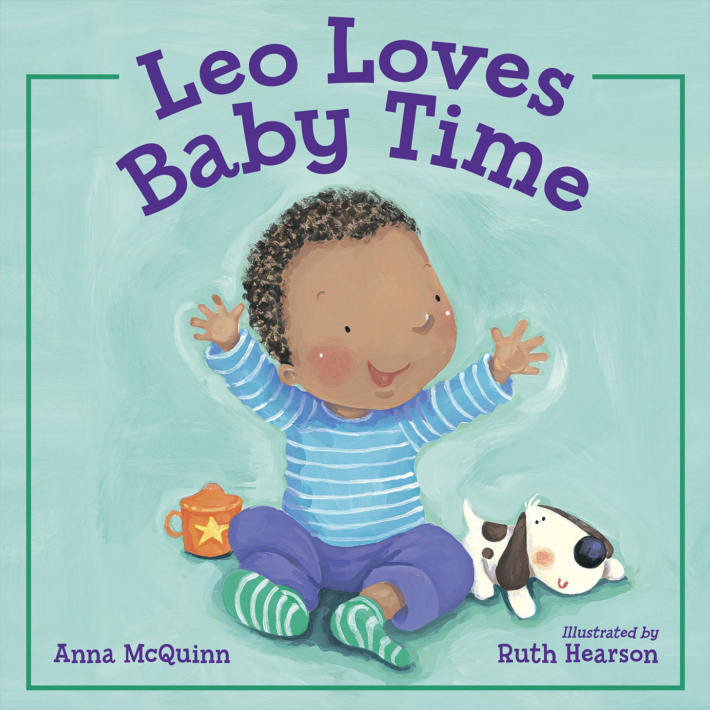 LEO LOVES BABY TIME - ANNA MCQUINN