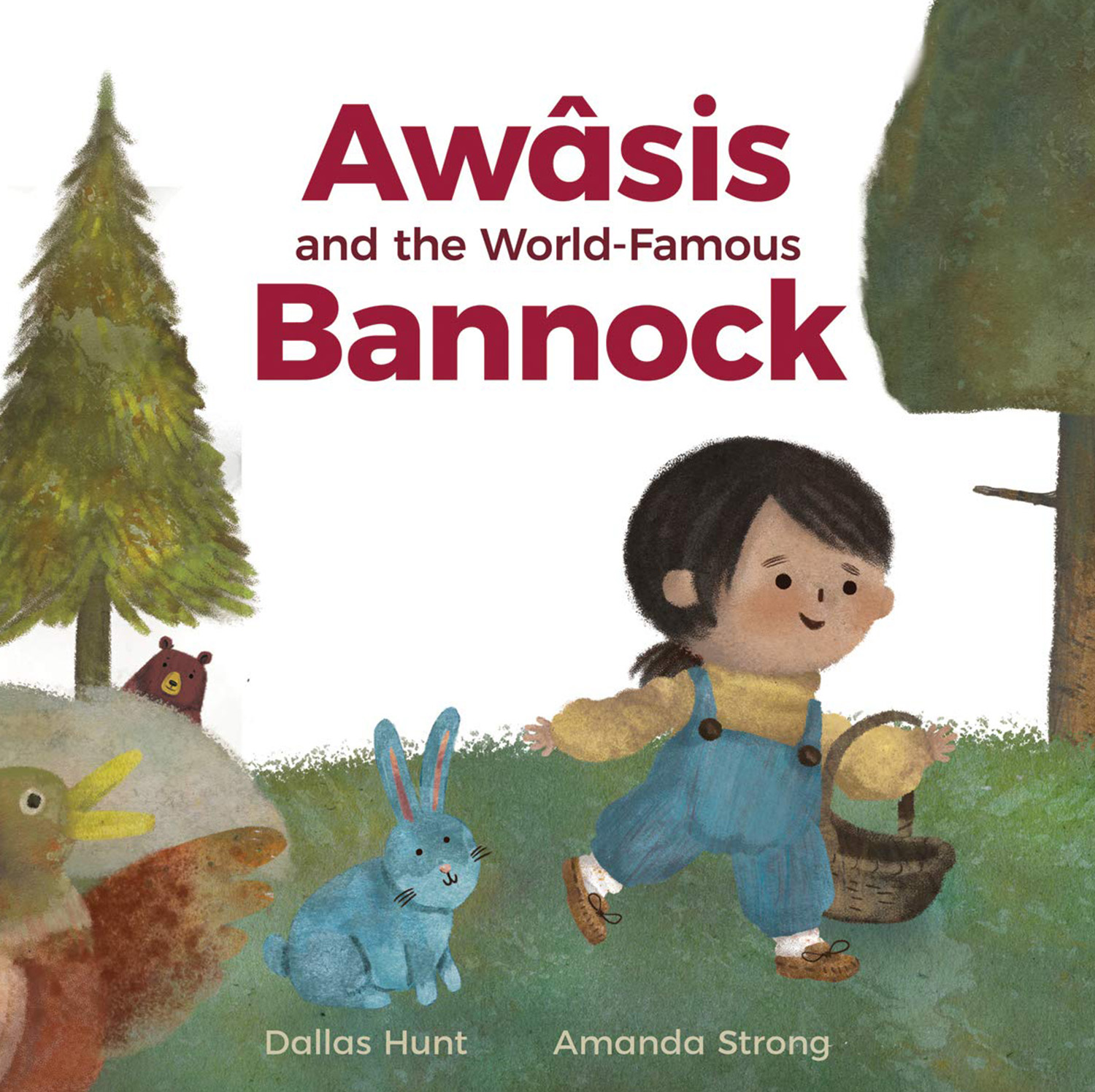 Awasis and the World-famous Bannock by Dallas Hunt