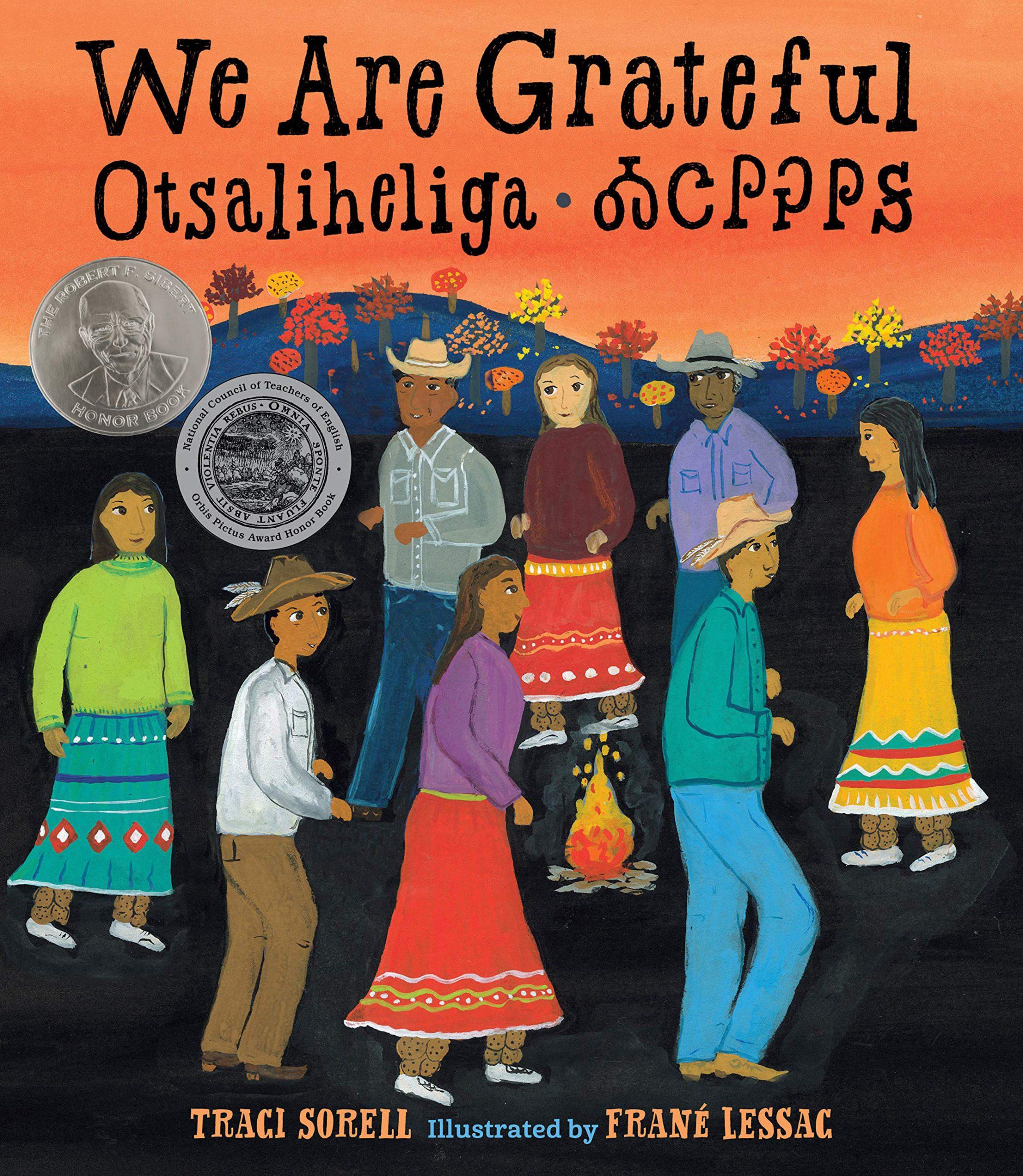 WE ARE GRATEFUL/OTSALIHELIGA TRACI SORELL AND FRANE LESSAC