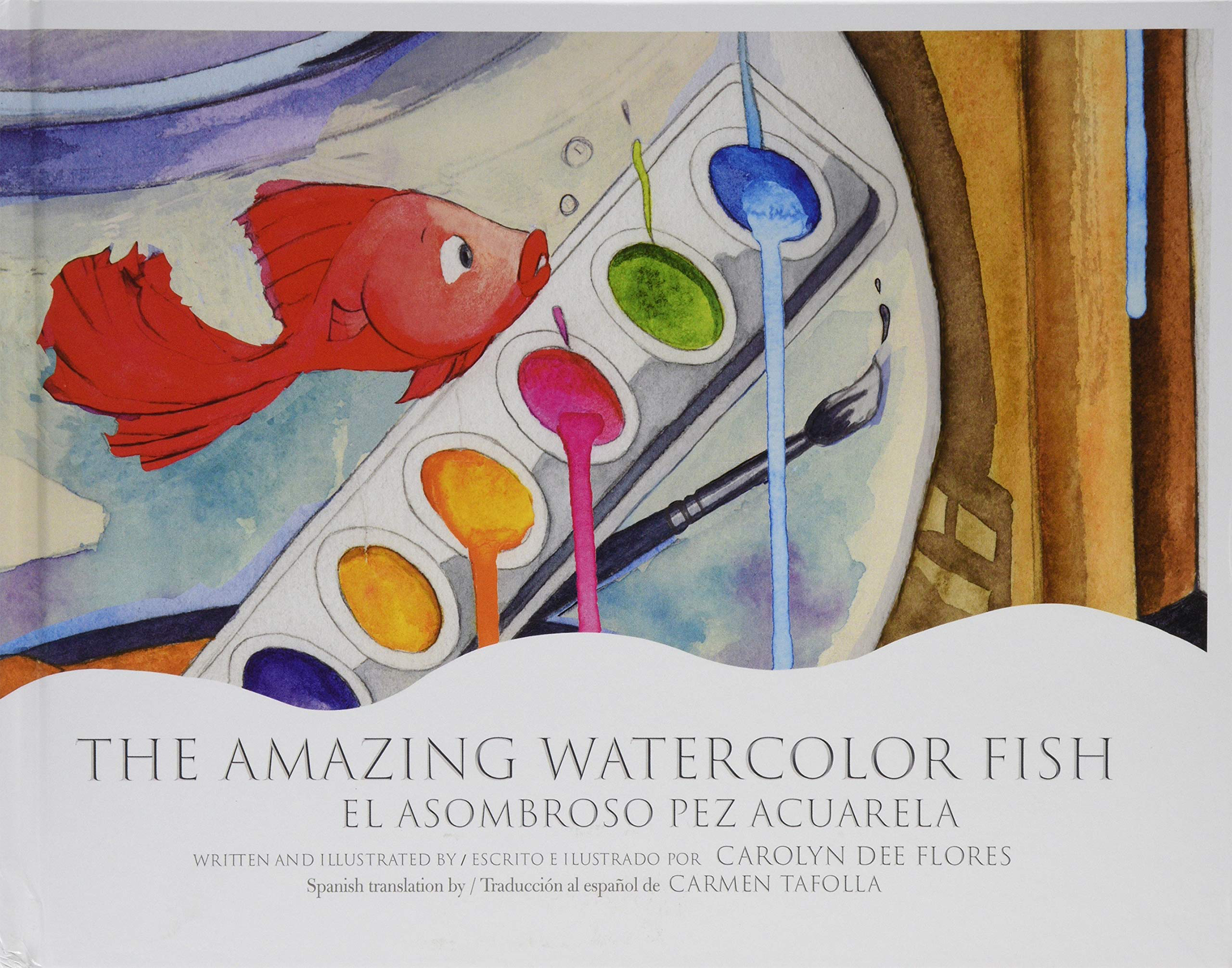 The Amazing Water Color Fish