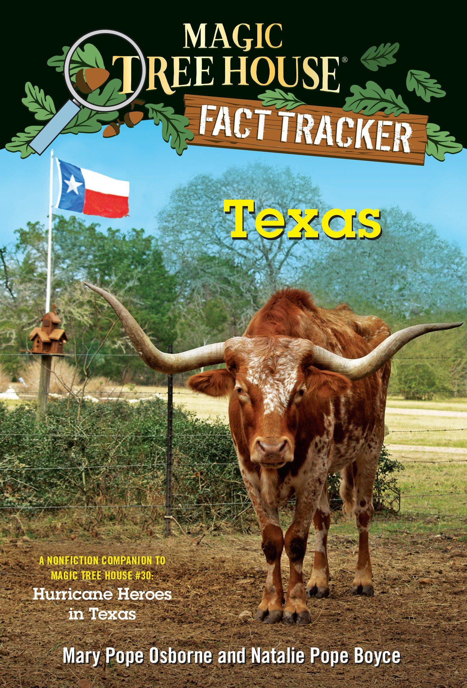 Magic Tree House Fact Tracker - Texas