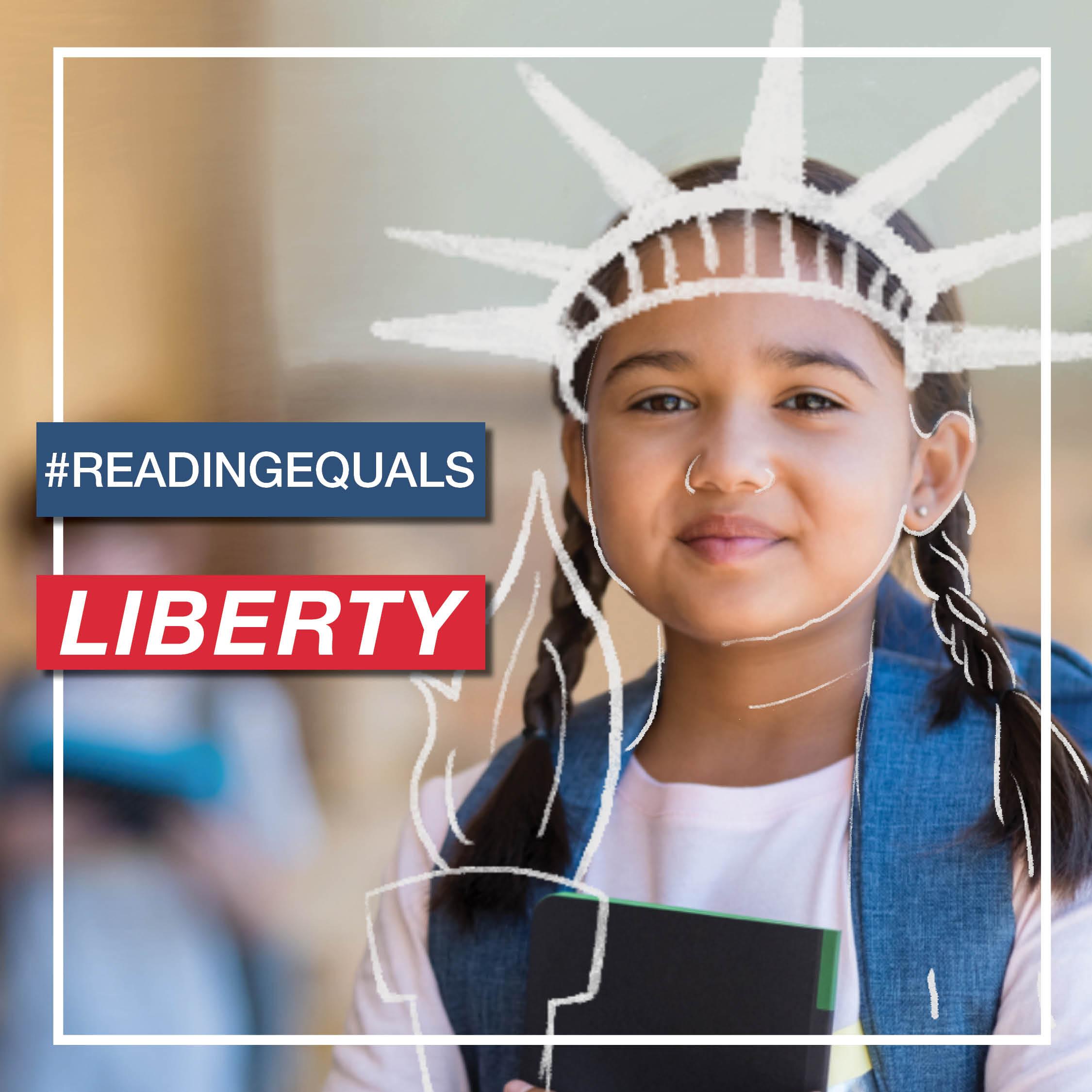 #ReadingEqualsLiberty