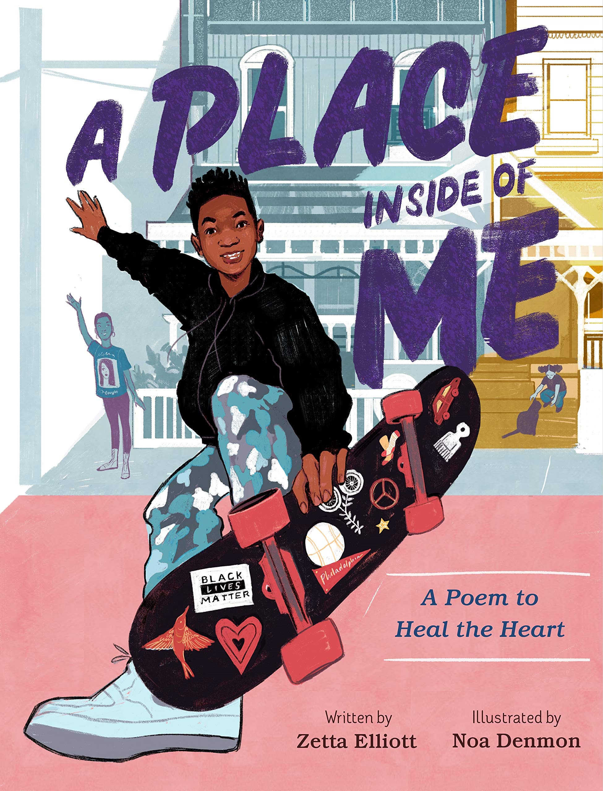 """Cover of """"A Place Inside of Me: A Poem to Heal the Heart"""" by Zetta Elliott"""