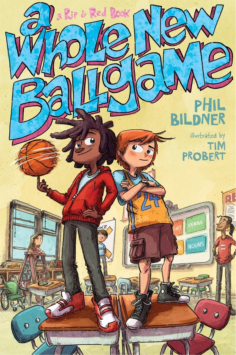 """Cover of """"A Whole New Ballgame"""""""