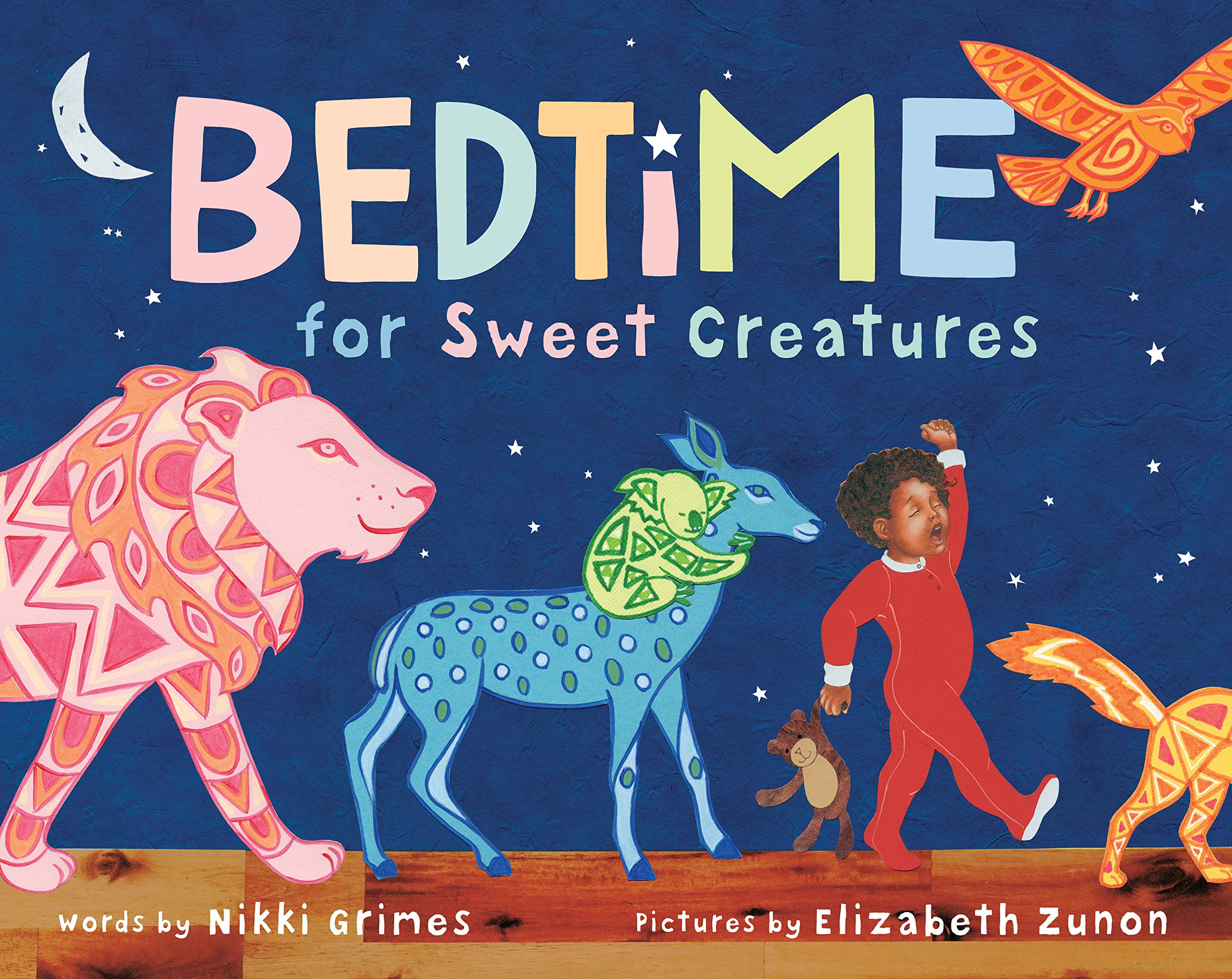 """Cover of """"Bedtime for Sweet Creatures"""""""