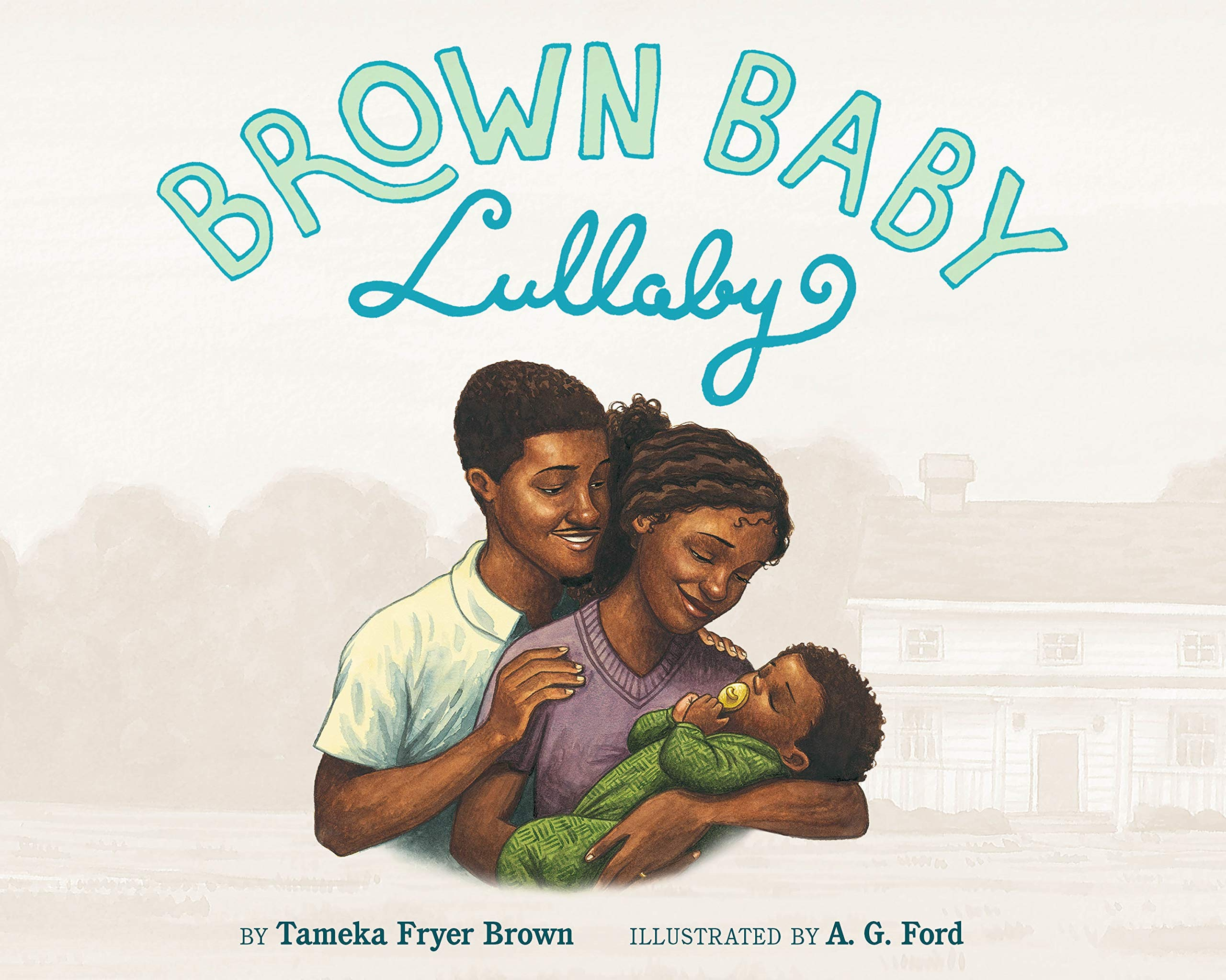 """Cover of """"Brown Baby Lullaby"""""""