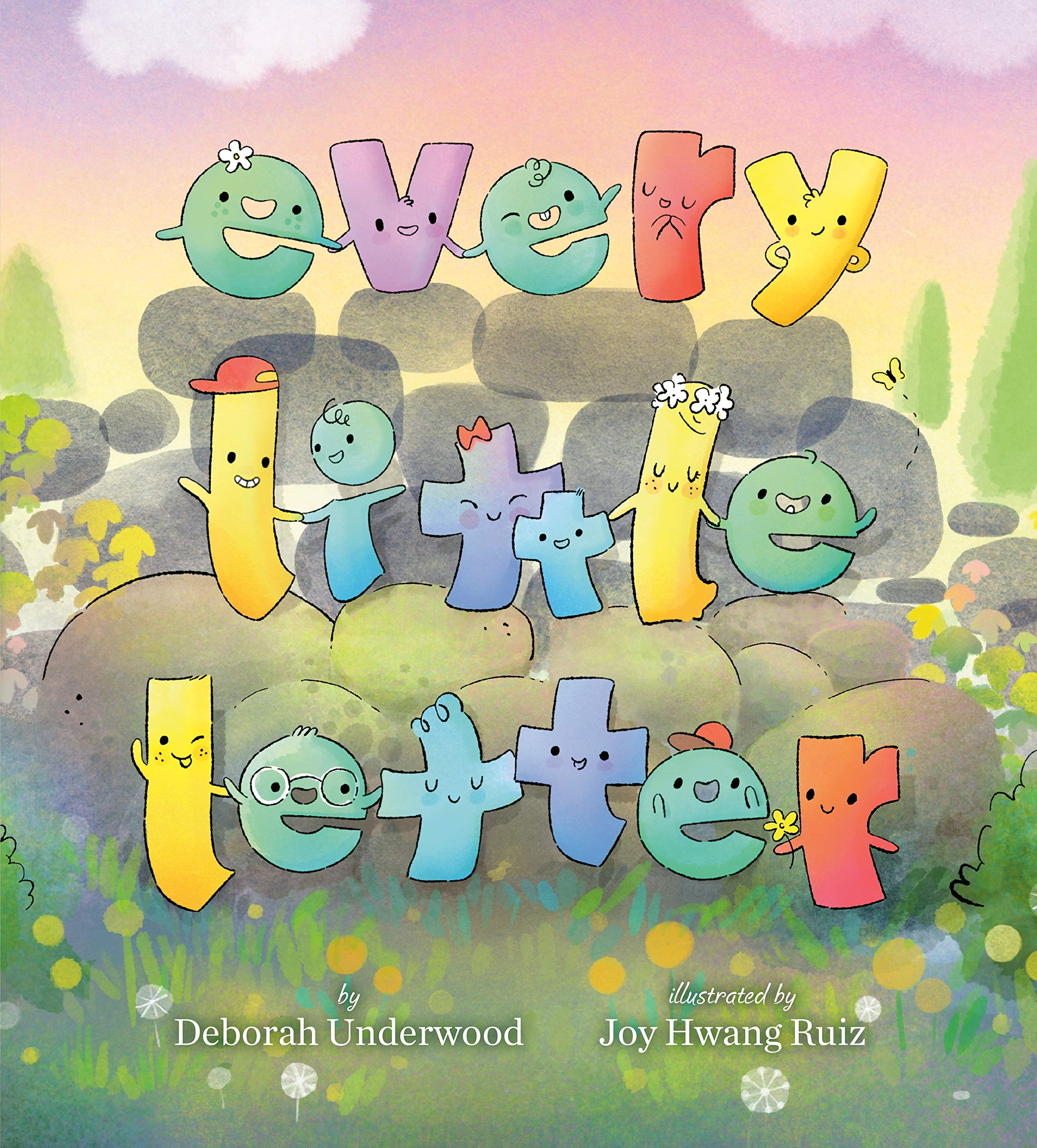 """Cover of """"Every Little Letter"""""""