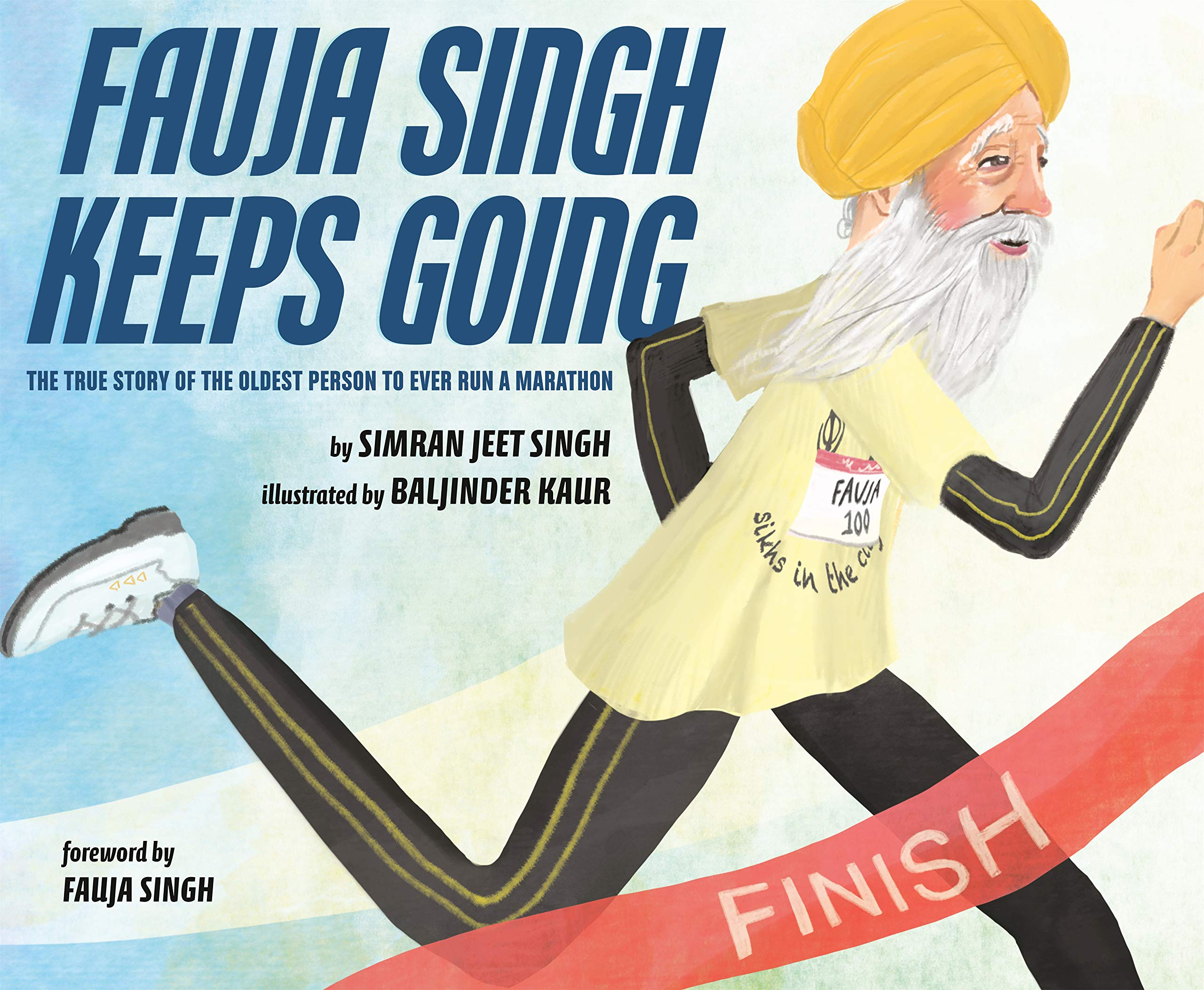 """Cover of """"Fauja Singh Keeps Going"""""""