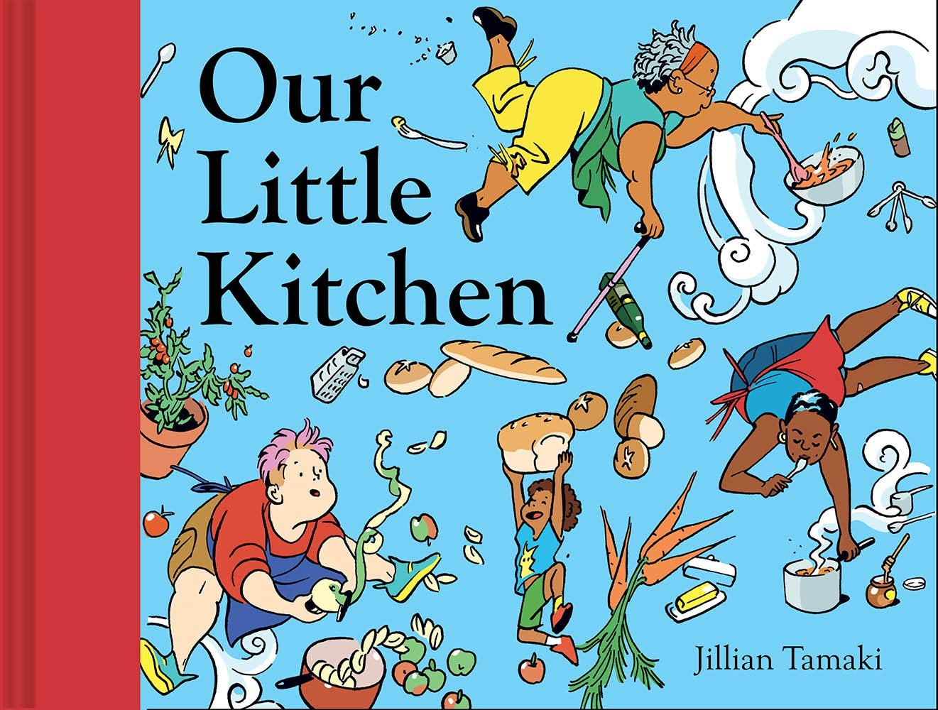 """Cover of """"Our Little Kitchen"""""""