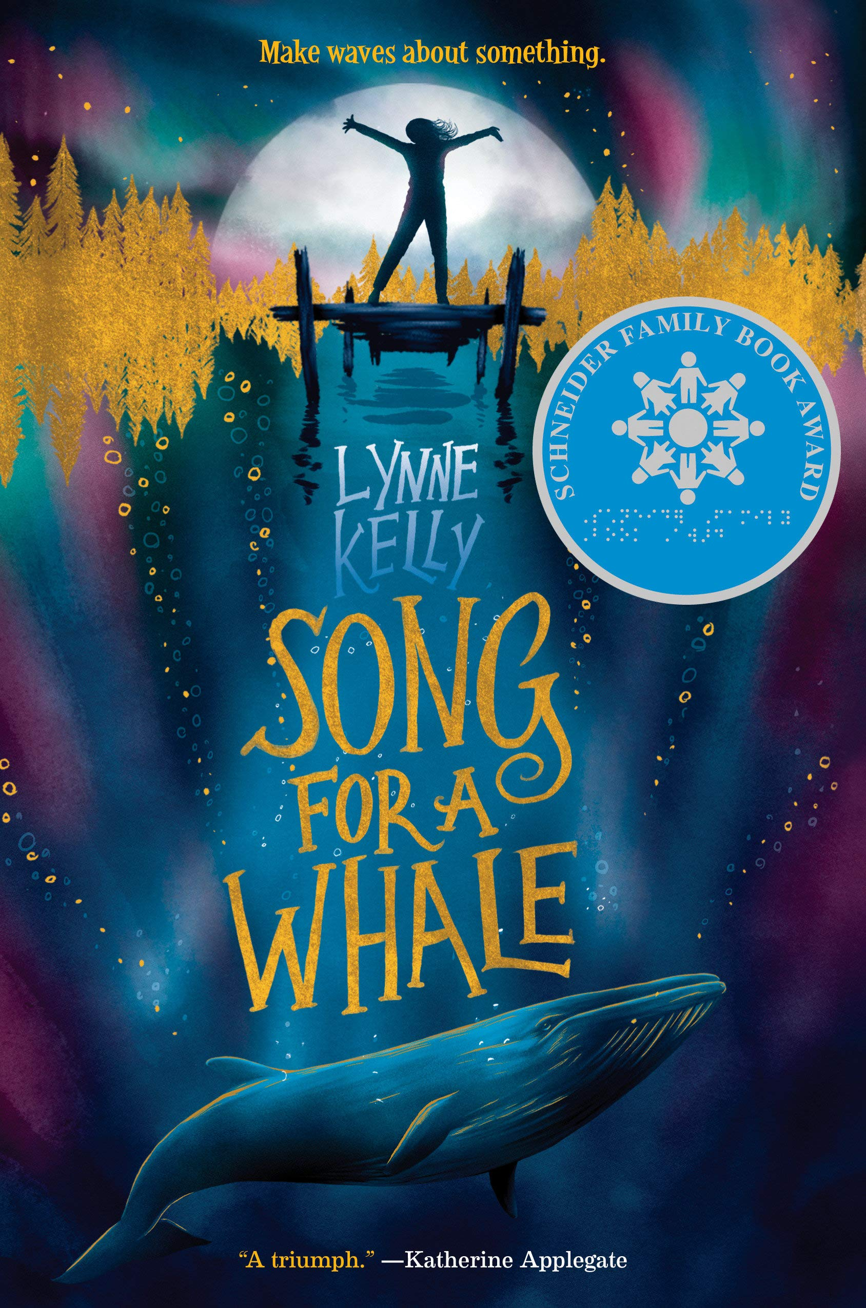"""Cover of """"Song For A Whale"""""""