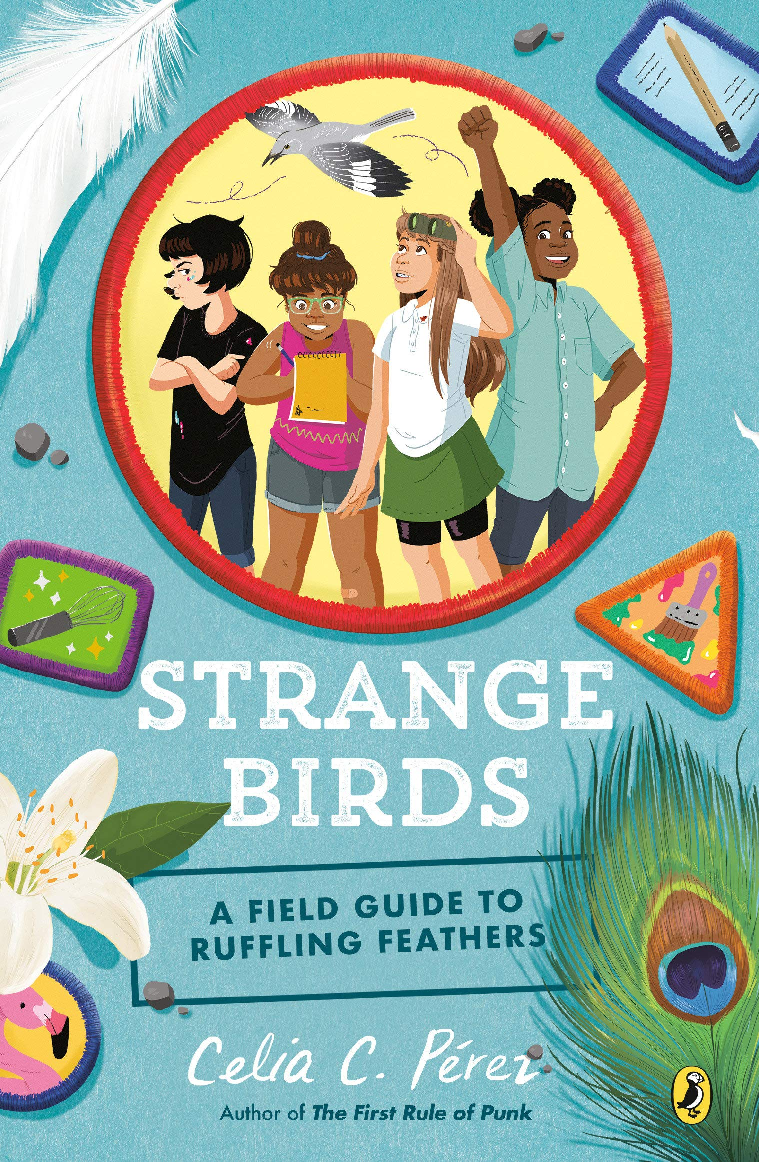 """Cover of """"Strange Birds: A Field Guide to Ruffling Feathers"""""""