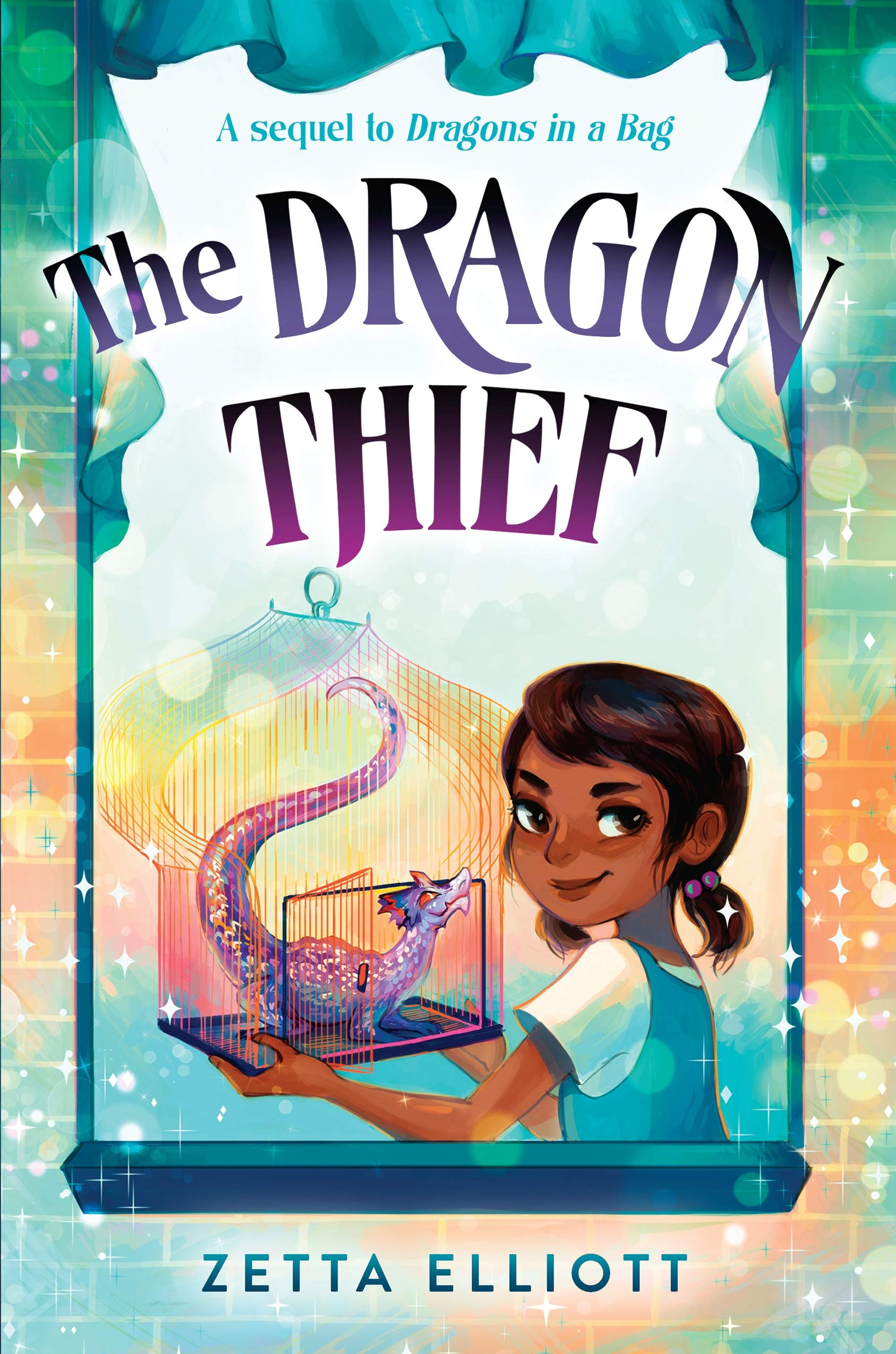 """Cover of """"The Dragon Thief"""""""
