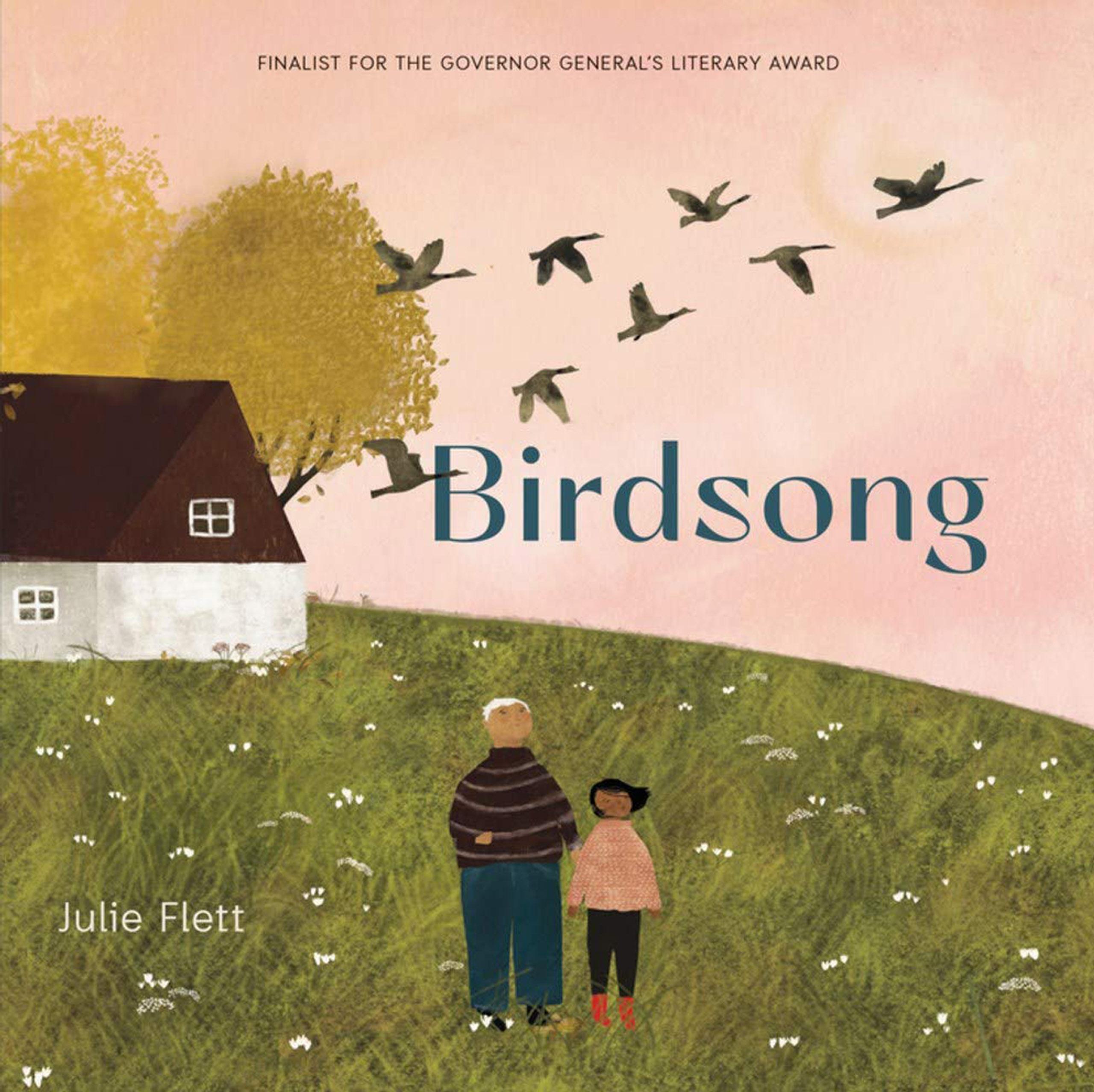 """Cover of """"Birdsong"""" by Julia Flett"""