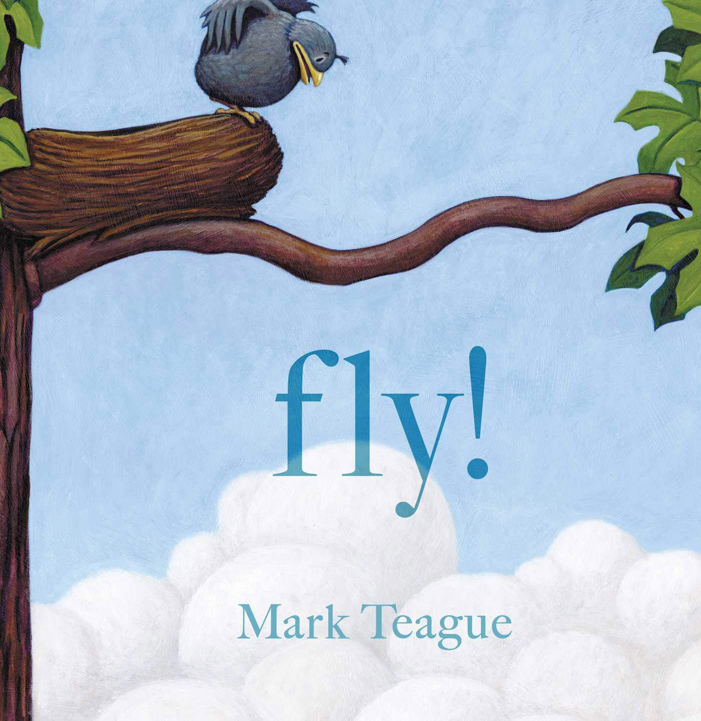 """Cover of """"fly!"""" by Mark Teague"""
