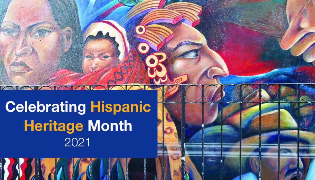 Mural #1 for Hispanic Heritage Month